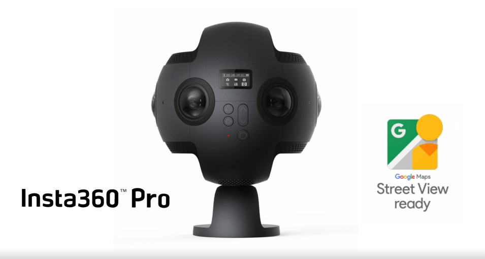 Insta360 Pro Now Lets Anyone Capture Google Maps Street View ... on building a view camera, google earth 360 view, smartphone street view camera, old camera, google maps caught on camera, 360 fly camera, youtube 360 camera, google street view camera vehicle, 360 bullet time camera, car camera, google maps vehicle with camera, google map 360 view, 360 degree camera,