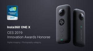 Insta360 ONE X Honored at CES 2019