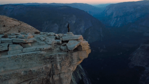 Street View Photography - Federico in Yosemite