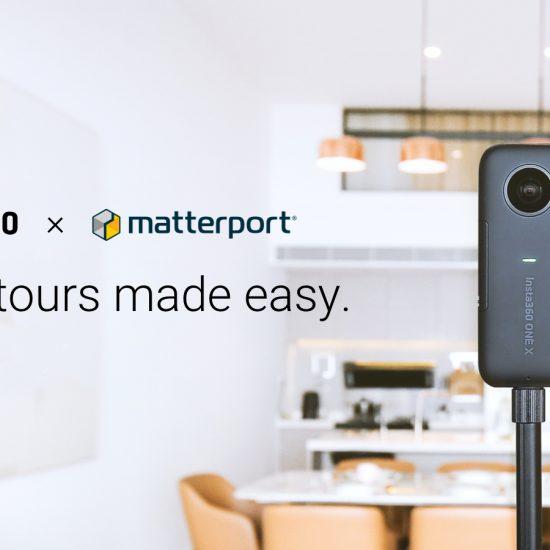 Insta360 x Matterport