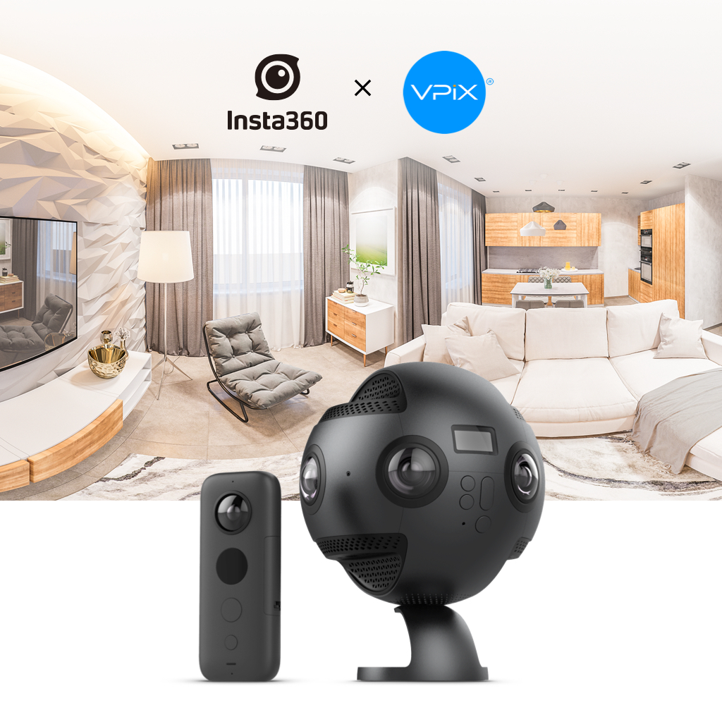 Virtual Tours Made Easy - Insta360 Partners with VPiX