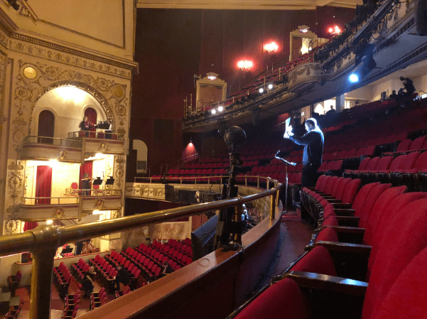 Insta360 Pro 2 at Apollo Theatre NYC