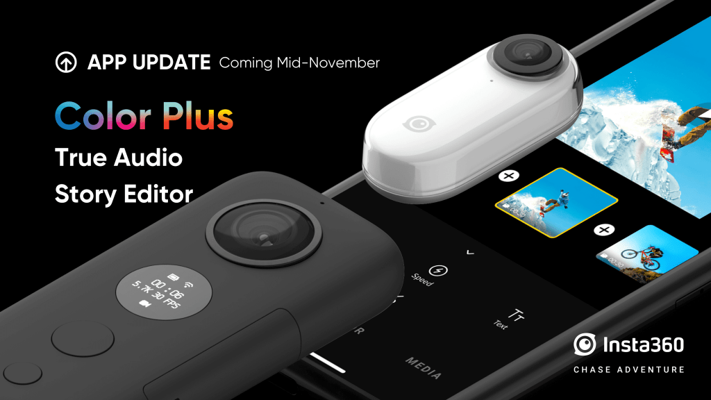 Insta360 app update