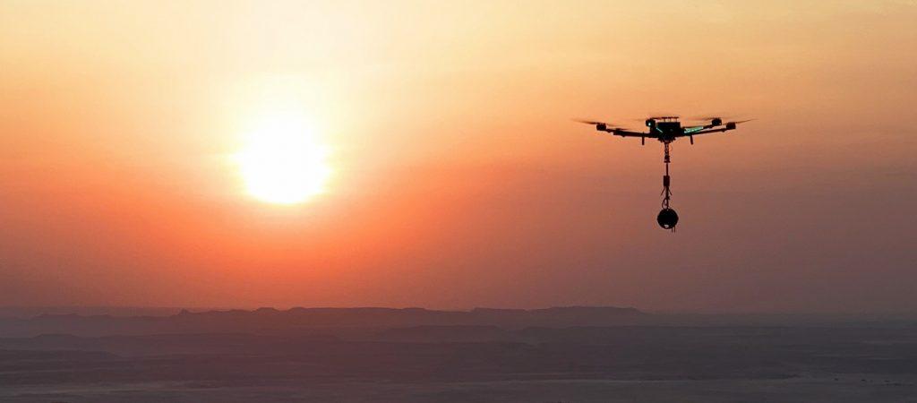 360 drone video