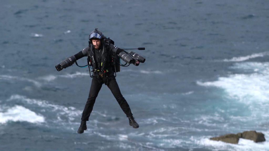 Richard Browning Jet Suit