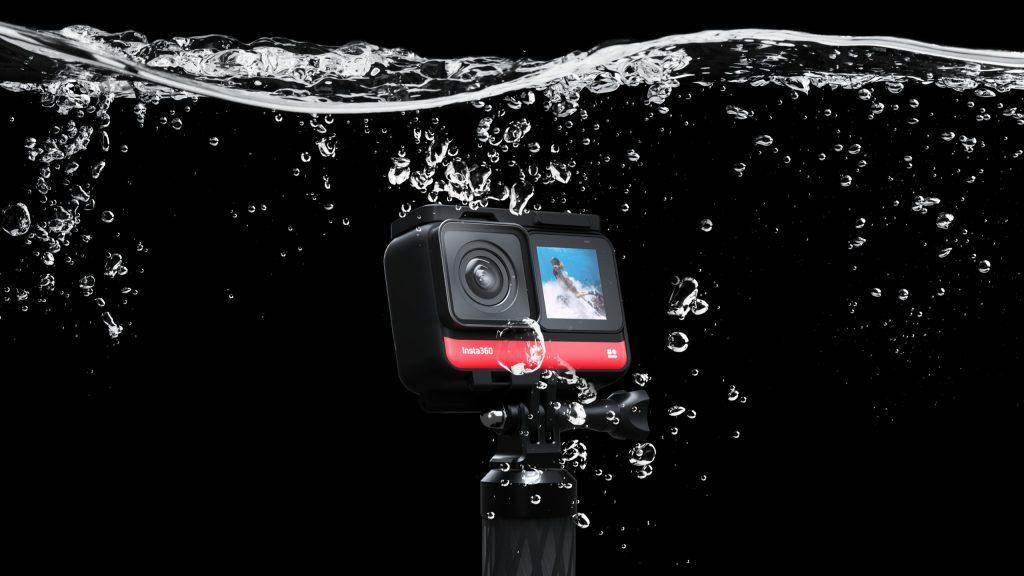 Insta360 ONE R 防水検証
