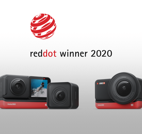 Insta360 ONE R Red Dot award