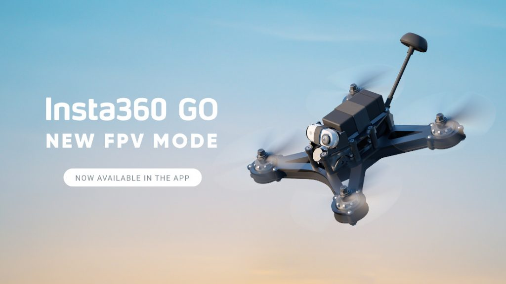Insta360 GO FPV camera