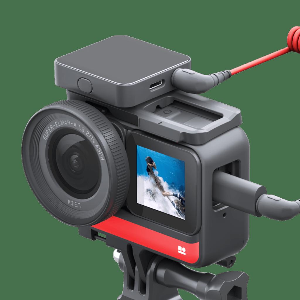 Insta360 ONE R: vlogアクションカメラ