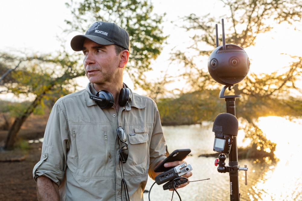VR nature documentary photographer