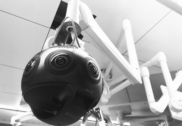 Insta360 Titan Japan surgery 8K VR