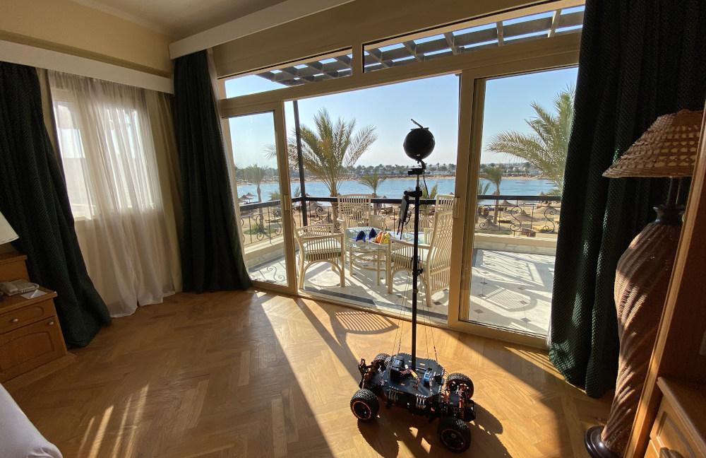 ホテルバーチャルツアー客室とInsta360 Pro 2