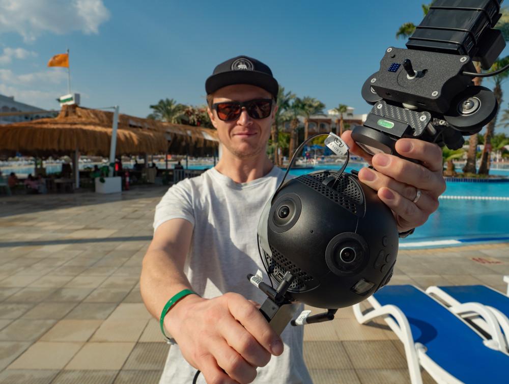 ホテルバーチャルツアー用カメラ:Insta360 Pro 2