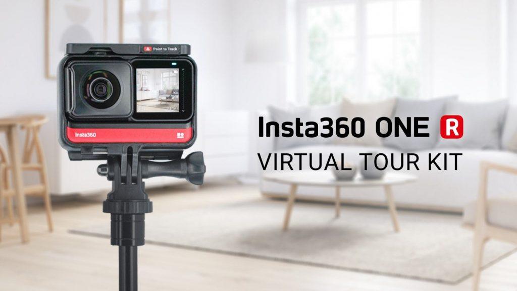 insta360 one r virtual tour camera