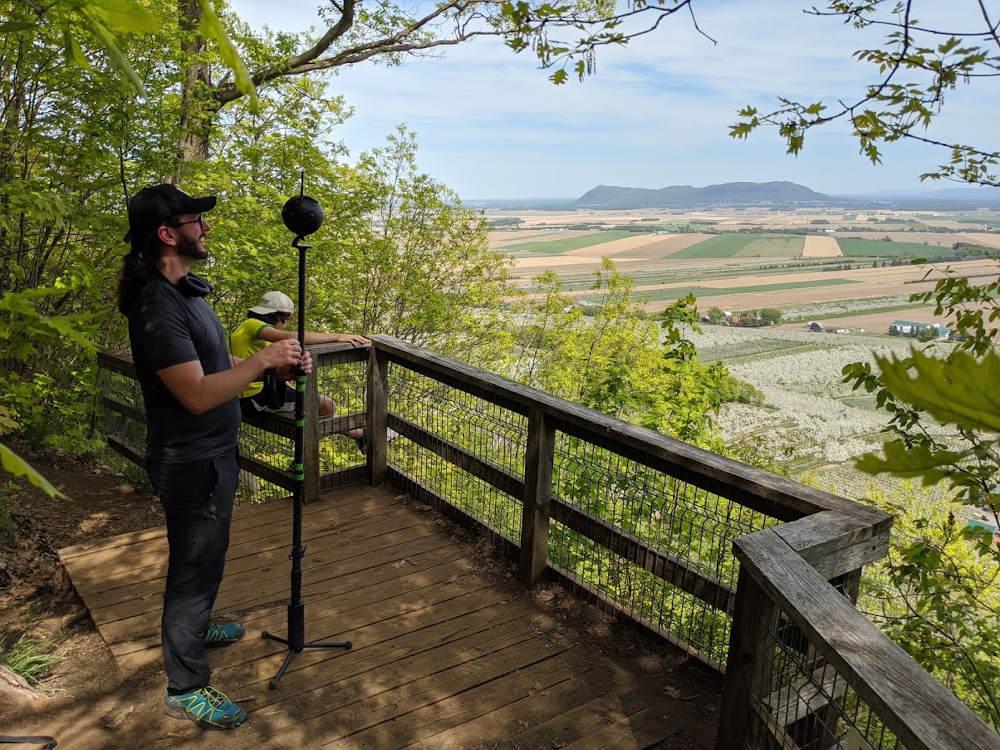 virtual reality telepresence camera