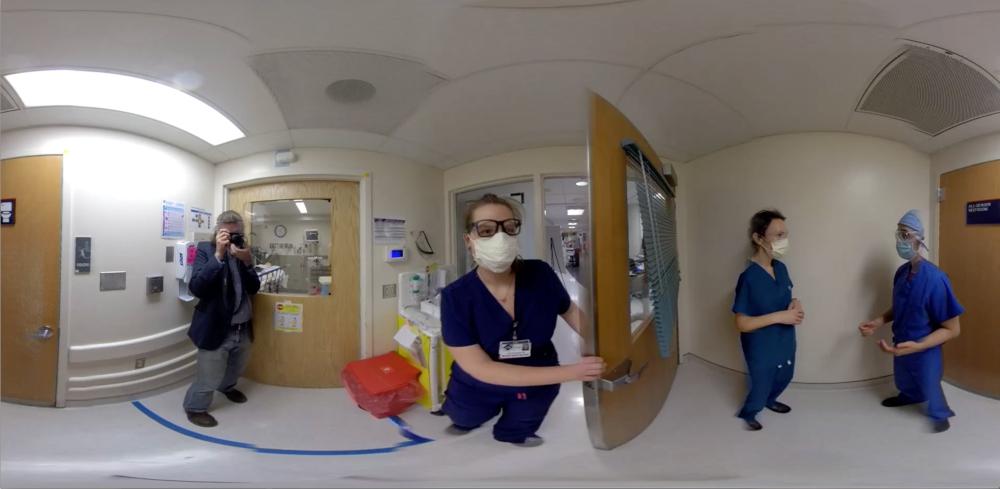 COVID-19 VR medical training