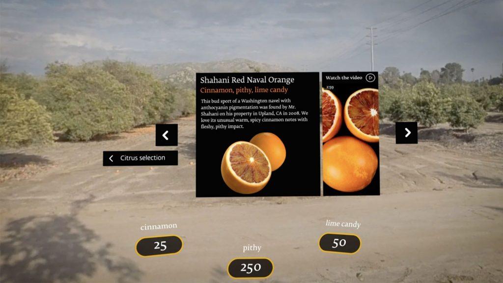 virtual food experience