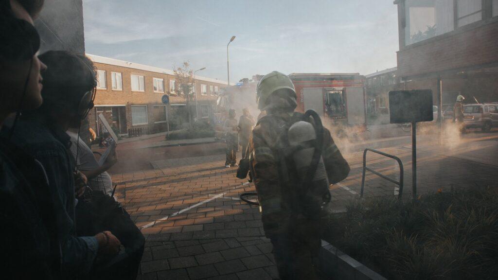 VR fire training