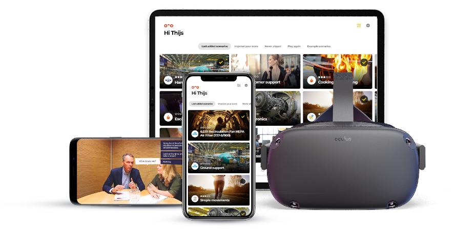 VR training software