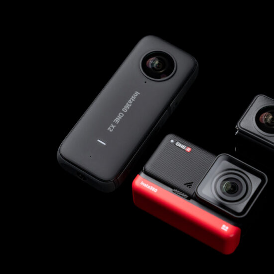 360 action camera ONE X2 vs ONE R