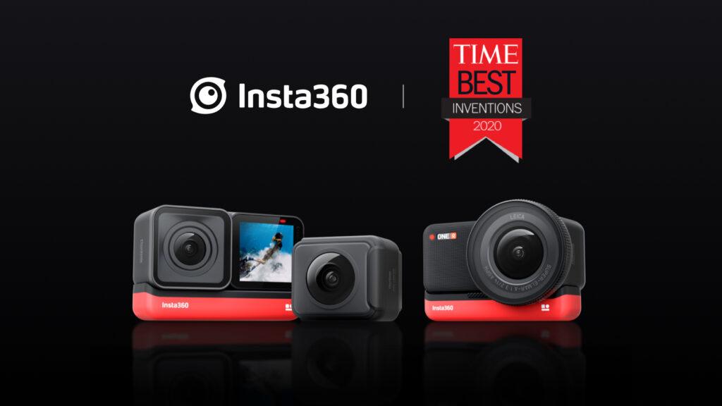 Insta360 タイム誌 2020 ベスト発明