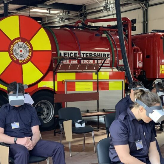 virtual reality fire training