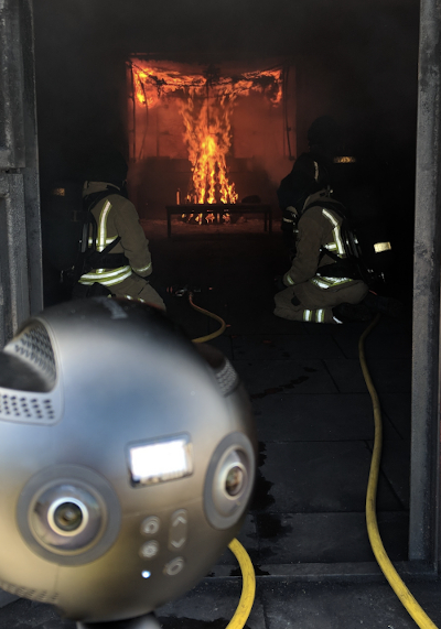 virtual reality fire training