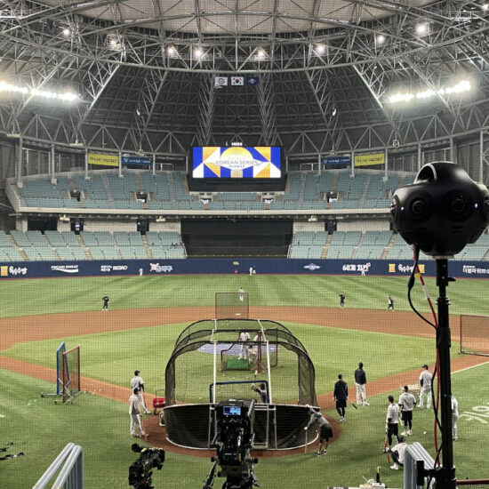 korea baseball vr live streaming