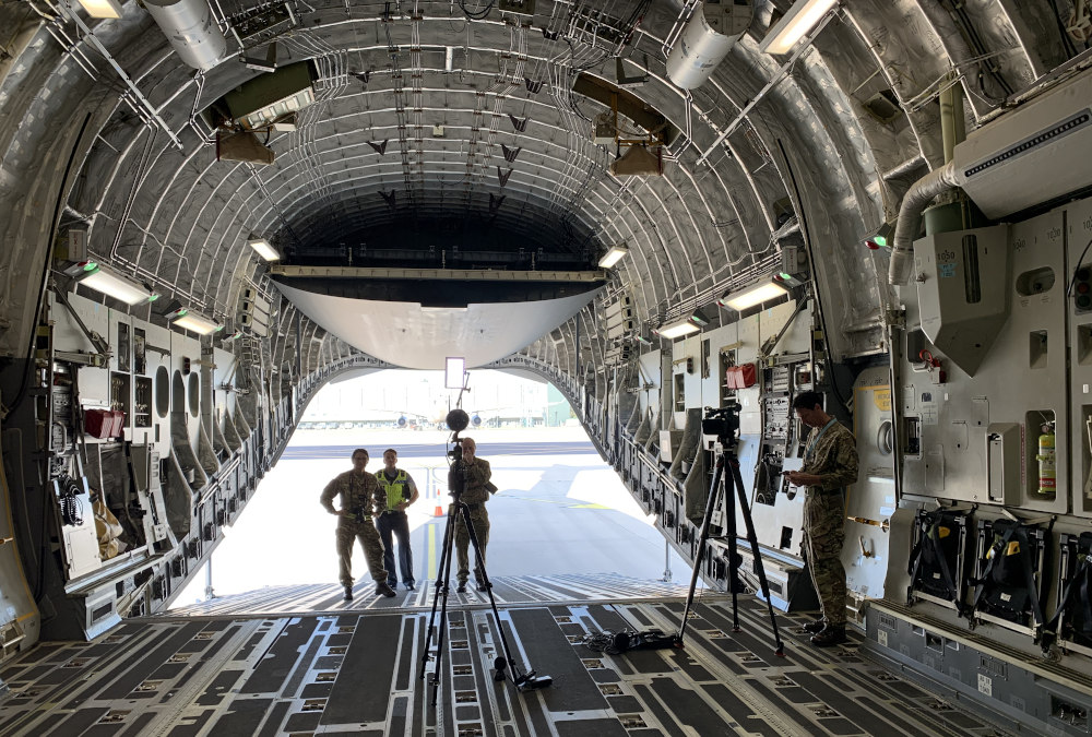 Royal Air Force 360 video