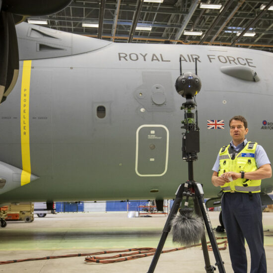 Royal Air Force Insta360 Pro 2