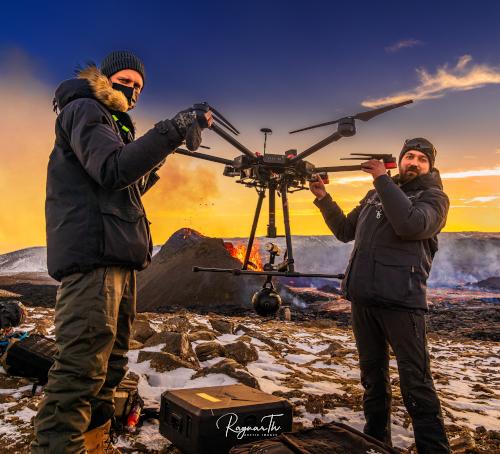 8K VR冰島火山