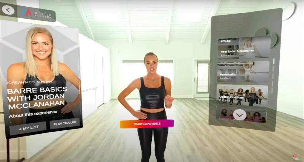 VR education platform interface