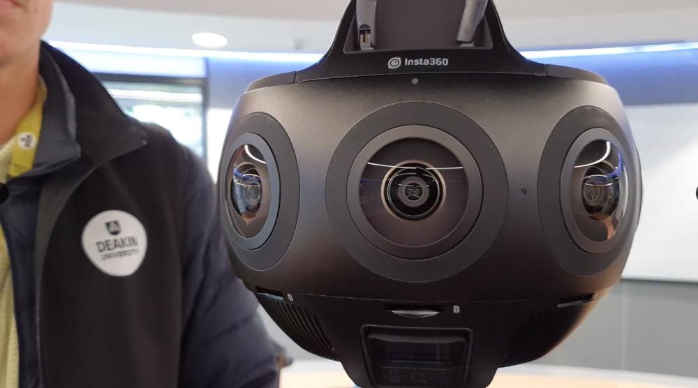 Deakin University's Insta360 Titan